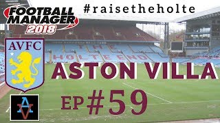 FM18 - Aston Villa Ep.59: Champions League 1/4 Final vs Benfica- Football Manager 2018 Let's Play