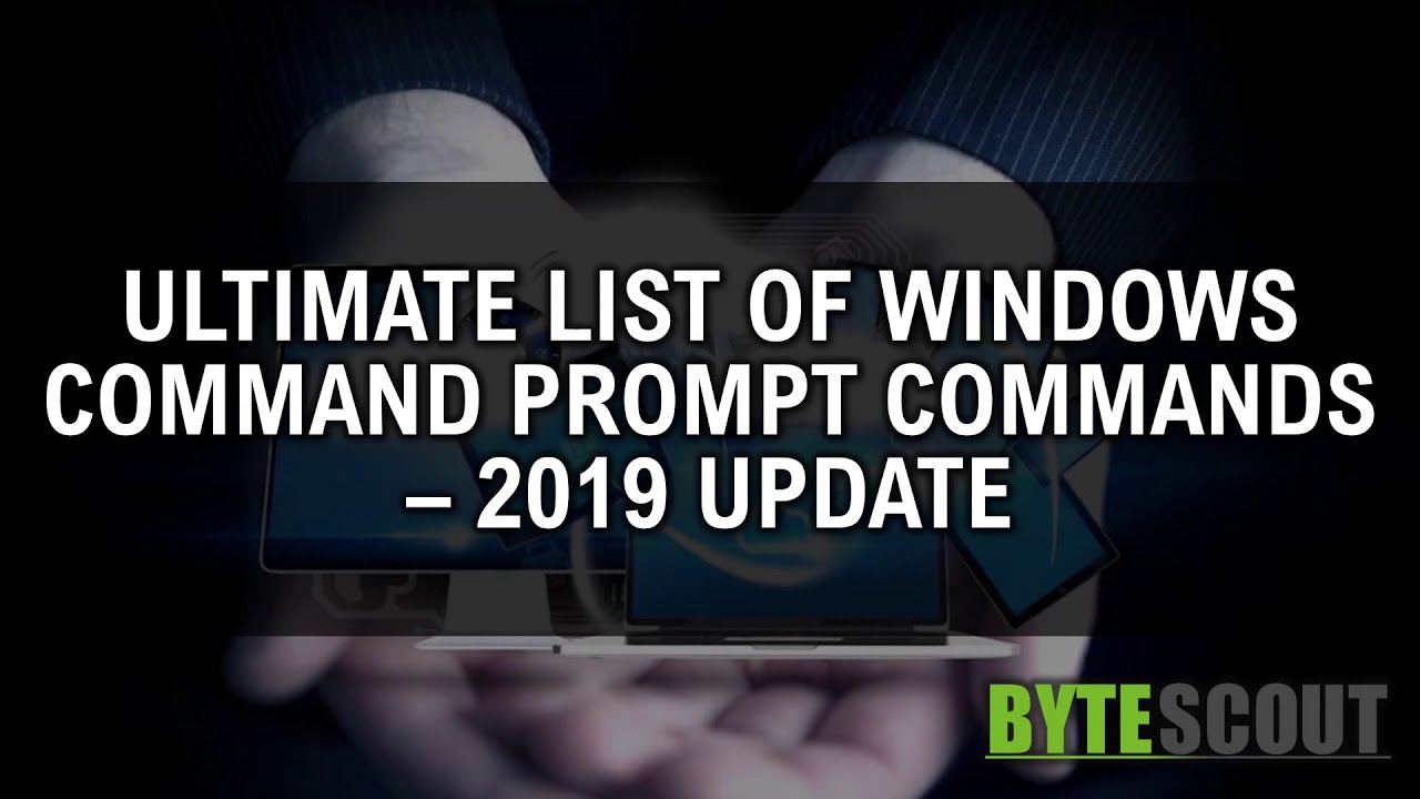 Windows CMD Commands List Extended, Usage of Command Prompt
