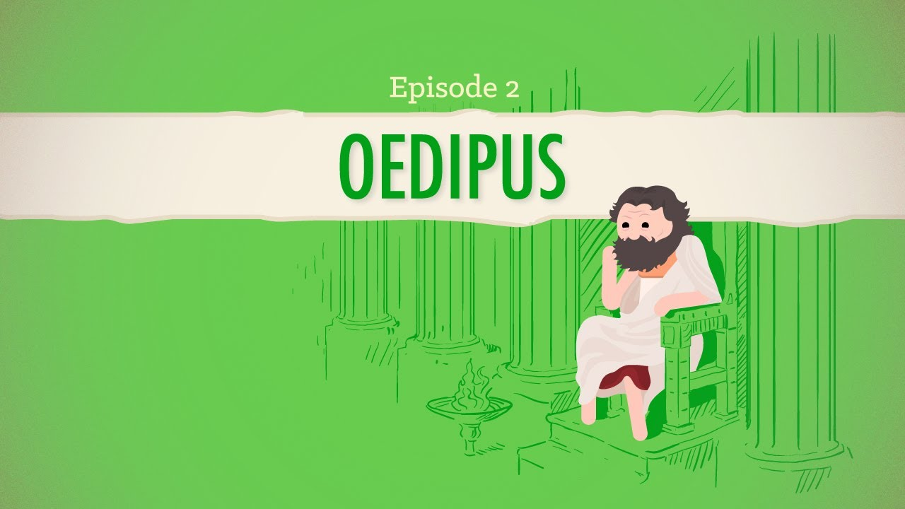 fate family and oedipus rex crash course literature