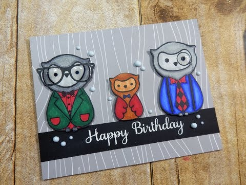 Permalink to Birthday Card Design Hipster