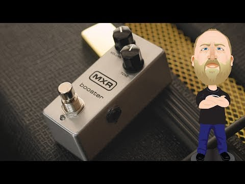 MXR Booster Mini - Demo