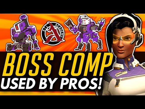Overwatch | The BOSS Comp Used By PROS! - Bastion Orisa Symmetra Crazy Anti-GOATS Strat thumbnail