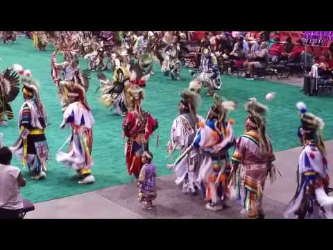 K-Days Pow Wow 2017 Grand Entry