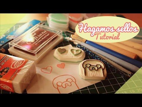 ♡ Hagamos sellos! / Tutorial / DIY ♡ By Piyoasdf