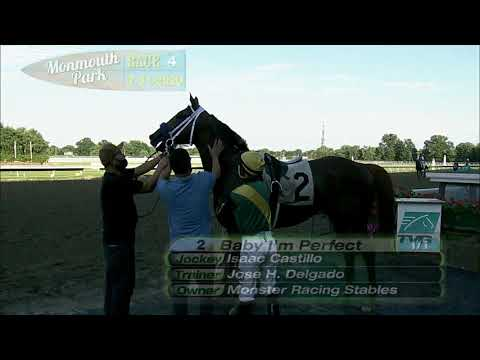 video thumbnail for MONMOUTH PARK 07-31-20 RACE 4