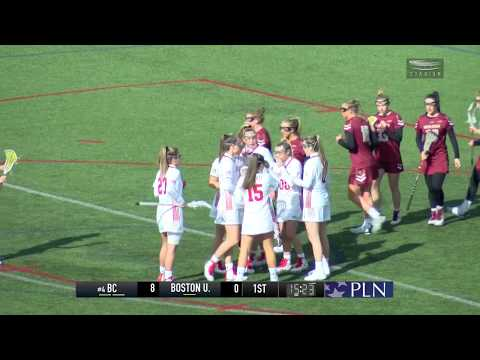Highlights: Women\'s Lacrosse vs. BC 2/17/2018