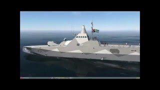 Swedish Navy Visby Class Corvette for DCS World.