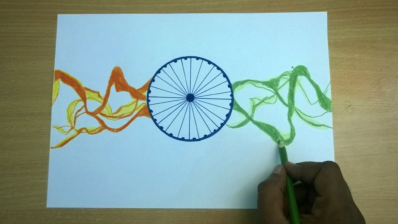 Republic day drawing how to make a greeting card republic day republic day drawing how to make a greeting card republic day 2017 m4hsunfo