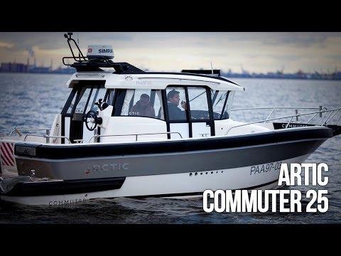 Artic Commuter 25 | Barca a motore del cantiere Artic Boats. Motoryacht