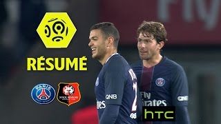 Paris Saint-Germain - Stade Rennais FC (4-0)  - Résumé - (PARIS - SRFC) / 2016-17