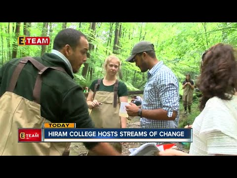 Students from Pakistan, Dominican Republic come to Hiram College to study water quality