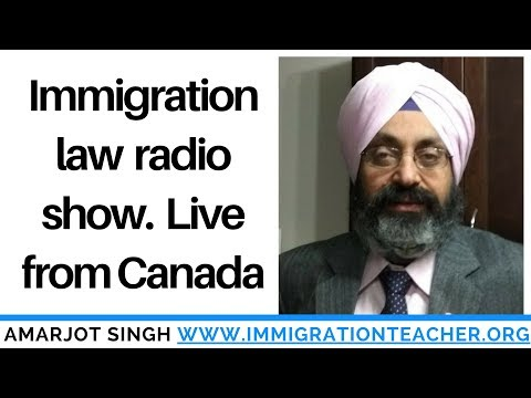 Canada immigration radio Live from Edmonton, Alberta