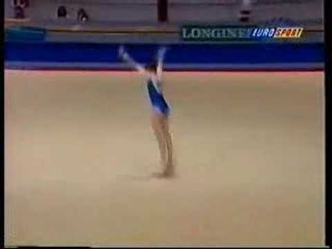 Elisa Lamperti - 1995 European Cup AA - Floor Exercise