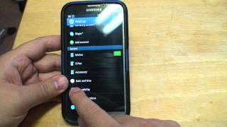 How to Escape from or disable Talkback mode on your Samung Galaxy S3/S4 or Note II