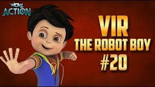 Vir: The Robot Boy | Hindi Cartoon Compilation For Kids | Compilation 20 | WowKidz Action