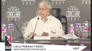 India Today Conclave: Q&A With Lalu Prasad Yadav