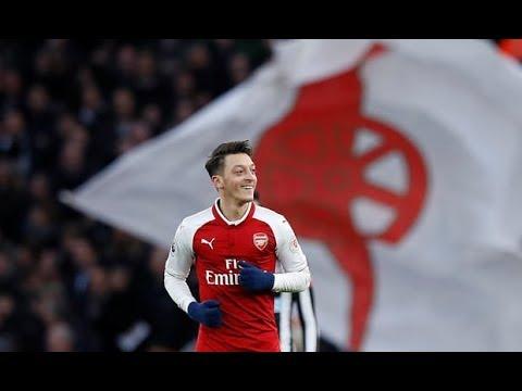 Mesut Ozil Signs New Deal At Arsenal