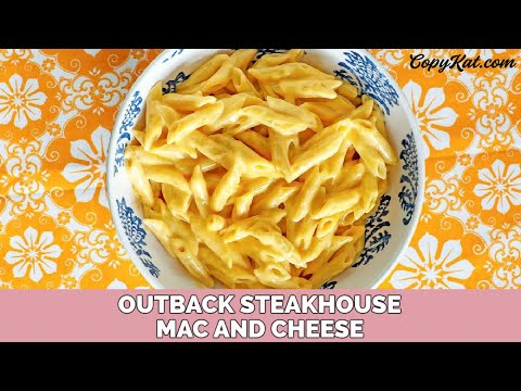 Outback Steakhouse Mac A Roo Youtube