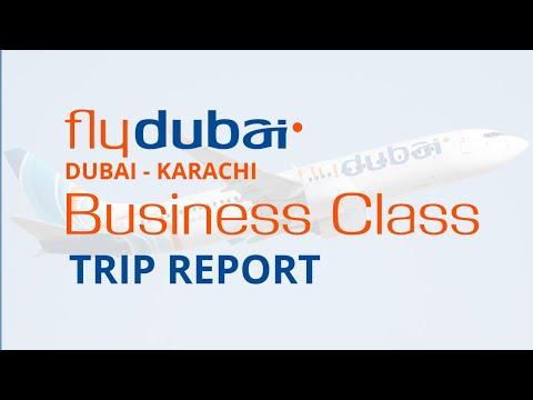 Trip Report | FlyDubai | Business Class | Dubai - Karachi | Flying Loner...