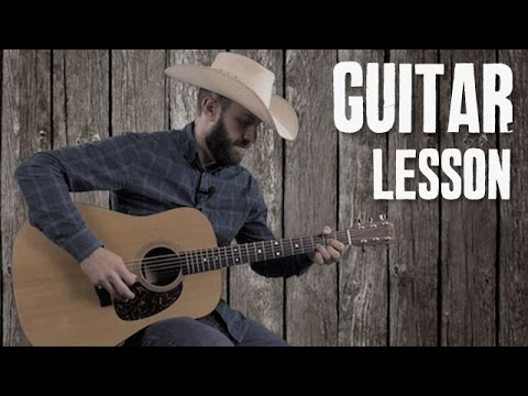 How to Mix Country Crosspicking with Your Strumming - Easy Country Bluegrass Guitar Lesson