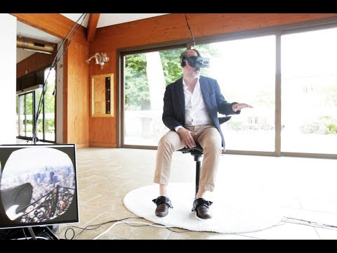 3D RUN shows Cybershoes @ VENICE IMMERSIVE ARCHITECTURE CONF