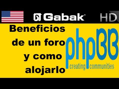 Beneficios de un foro y como instalar uno phpbb