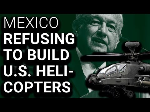 Mexico Will Cancel $1.36 Billion US Helicopter Order