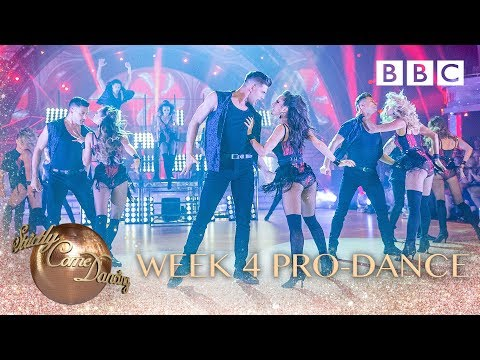 Strictly Pro-Dancers perform Dua Lipa's 'Hotter Than Hell'- BBC Strictly 2018