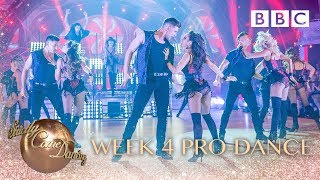 strictly pro dancers perform dua lipa39s 39hotter than hell39 bbc strictly 2018