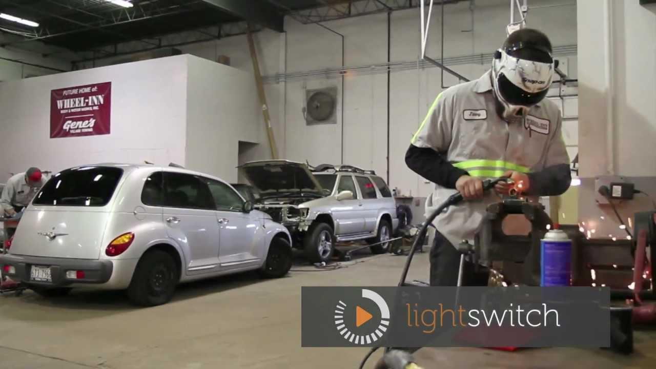 Auto Repair Chicago >> Wheeling Custom Body Shop - Chicago Car Repair Shop - Wheeling Autobody - YouTube