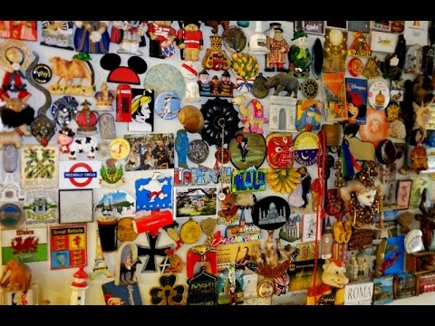My fridge magnet collection from around the world