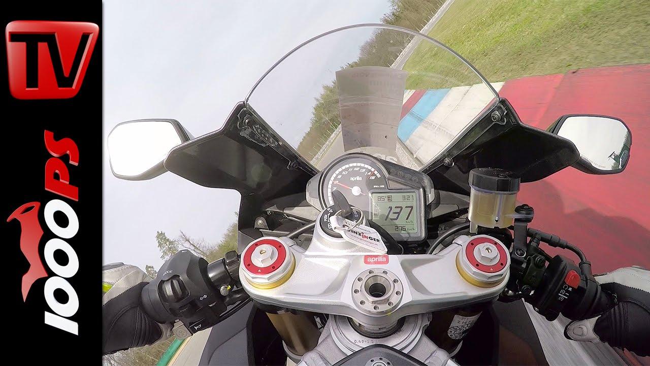 Aprilia Rsv4 Rr 2016 Onboard Motogp Racetrack Brunn Youtube