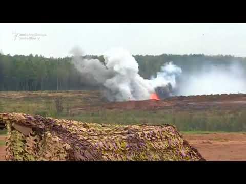 Putin Observes Zapad 2017 Military Exercises