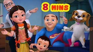 Lalaji Super Hero Song | Telugu Rhymes for Children | Infobells