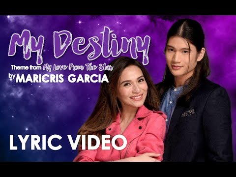 My Destiny (Theme From My Love From The Star) Female Version By Maricris Garcia [LYRIC VIDEO]