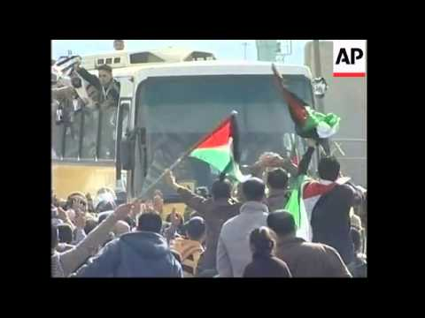 WRAP Israel release 224 Palestinian prisoners, reunions, celebrations