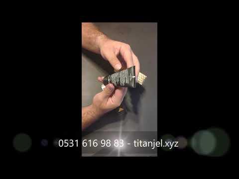 Orijinal Titan Jel (Gel) Bilgilendirme Videosu
