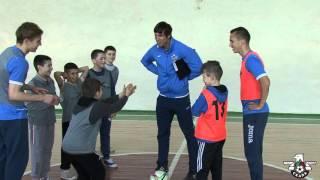 Зірковий урок футболу від ФК Скала в школі №3 м Стрий 19.04.2016