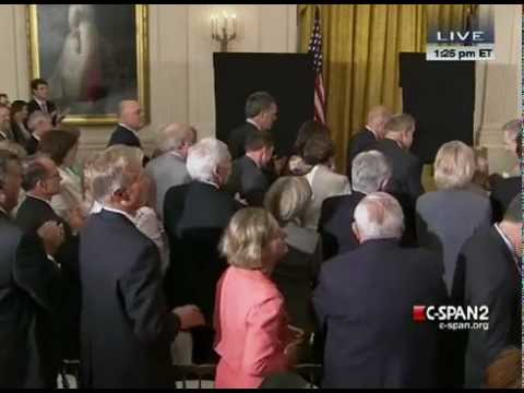 Unveiling of the Official George W. & Laura Bush White House Portraits