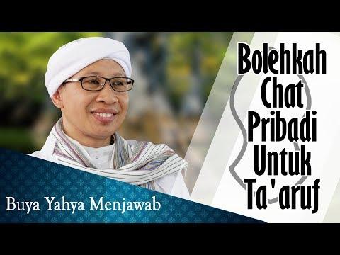 Bolehkah Chat Pribadi Untuk Ta'aruf - Buya Yahya Menjawab
