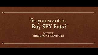 Stock Market Pulse | So you want to buy $SPY Puts?