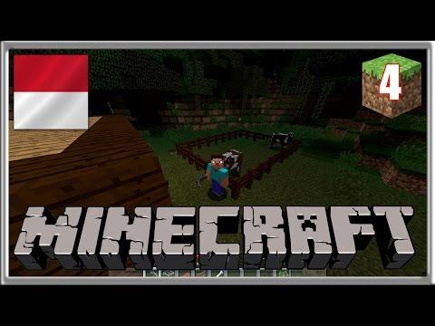 BIKIN KANDANG SAPI ! - Minecraft Survival Indonesia #4