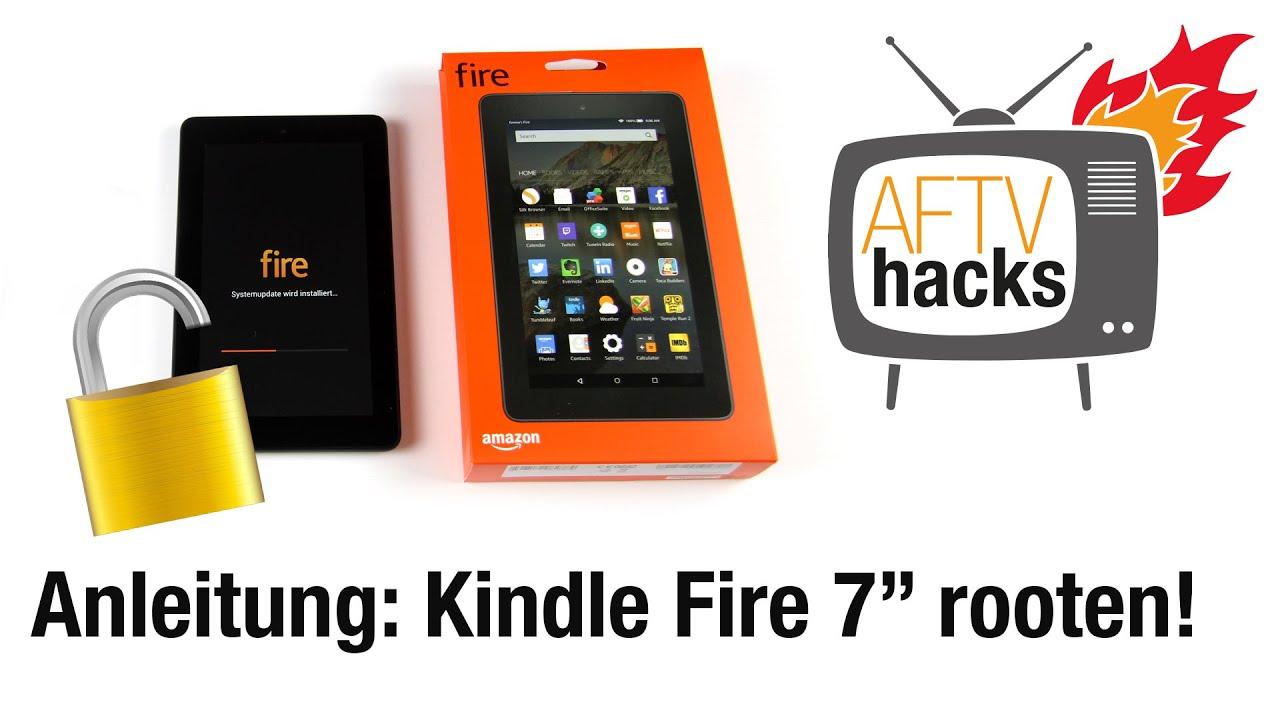 Anleitung Kindle Fire 7 Tablet Rooten 2015er Modell Aftvhacks