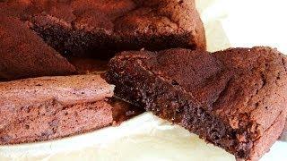 Flourless Chocolate Prune Cake Recipe (gluten-free, Low Sugar)