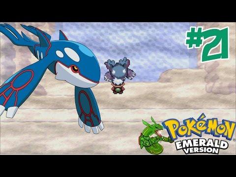 "Pokemon - Emerald #21 จับ ไคโอก้า โปเกม่อนในตำนาน  "" Kyogre"""