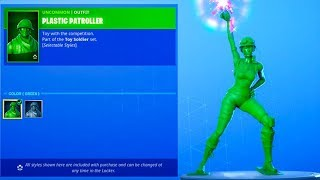 Fortnite NEW Toy Story Soldier SKINS..! (Vitrine de magasin d'article) Fortnite Bataille Royale
