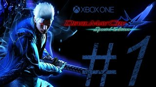 DEVIL MAY CRY 4 SPECIAL EDITION (VERGIL LEGENDARY DARK KNIGHT DIFFICULTY ) PART 1.
