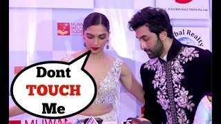 Ranbir Kapoor And Deepika Padukone AWKWARD Moments Will Make You Wonder Whats Going On
