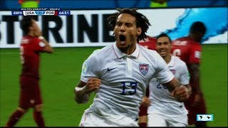 WORLD CUP - USA Jermaine Jones Ties Up Portugal | LIVE 6-22-14