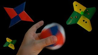 DIY Как сделать крутой СПИННЕР из бумаги за 5 МИНУТ | Steep Spinner from paper in 5 minutes